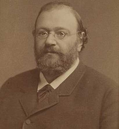 A photograph of Wilhelm Kühne