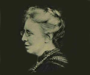 A photograph of Clementina Black.