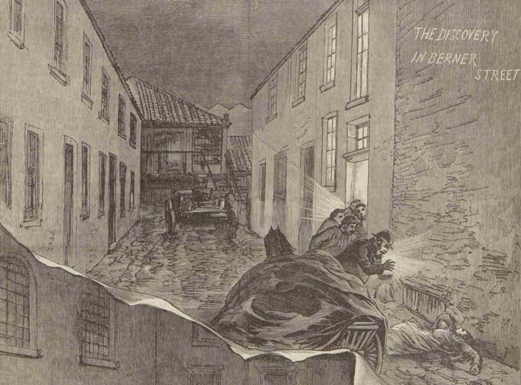 An illustration showing Dutfield's Yard.