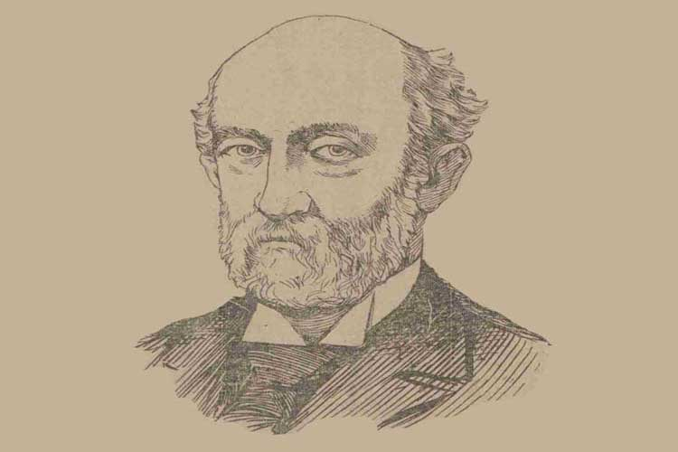 A portrait of Sir Robert Anderson.