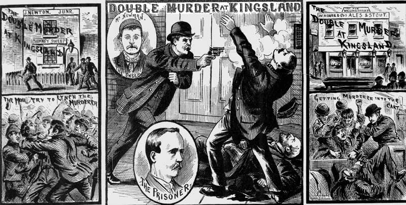 Illustrations of the Kingsland Murder.