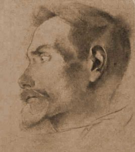 A sketch of Francis Thompson.