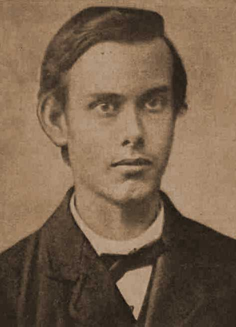 A photograph of Francis Thompson at the age of nineteen