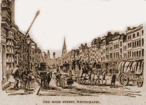 A sketch of Whitechapel High Street.