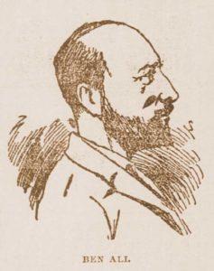 A sketch of Ben Ali.