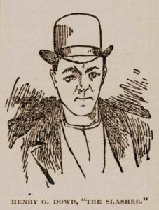 A sketch of Henry Dowd.