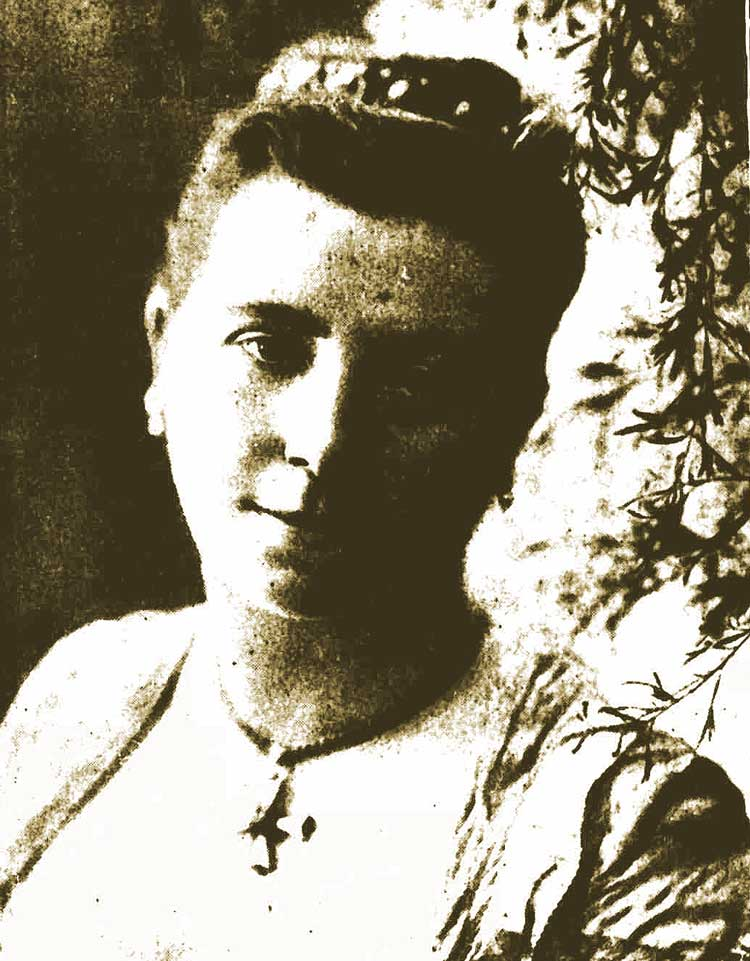 A photograph of Florence Fenwick Miller.