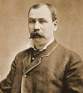 A photograph of Inspector Byrnes.