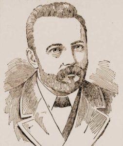 A portrait of Robert James Lees.