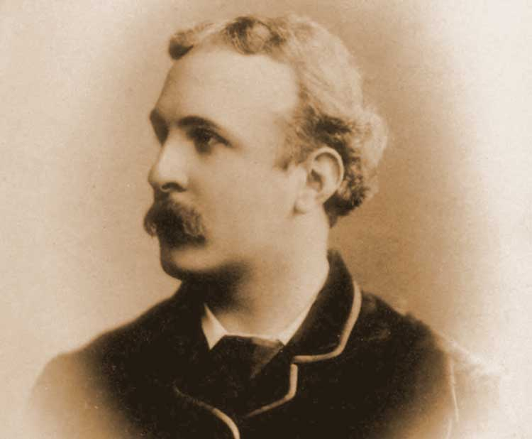 A photograph of Stuart Cumberland.
