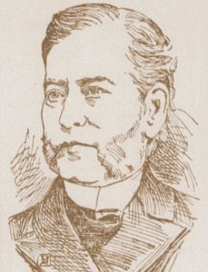 A portrait of Rufus wade.