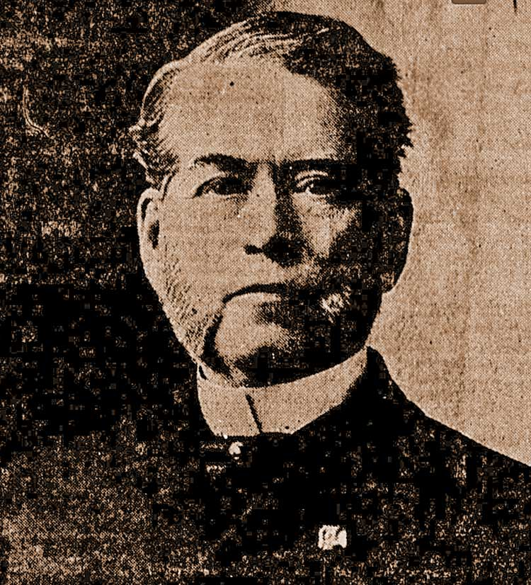 A photograph of Rufus R. Wade.
