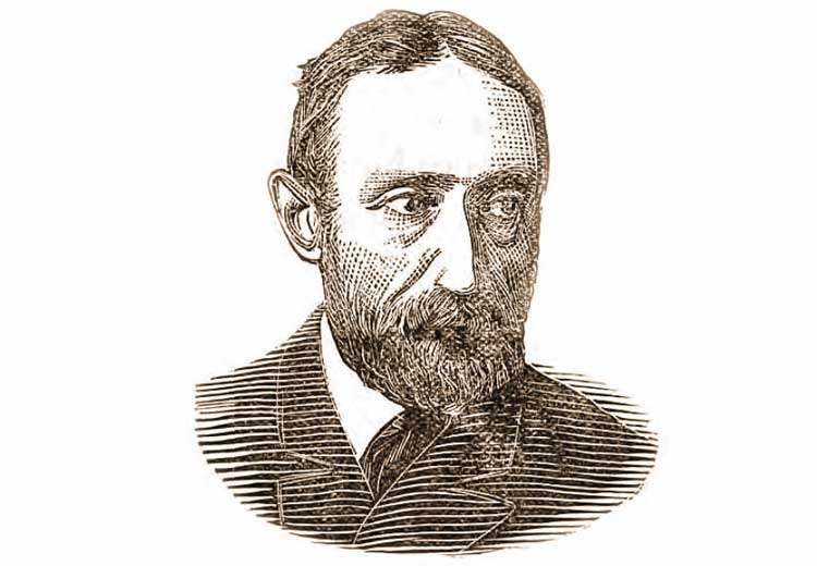 A portrait of suspect Michael Ostrog.