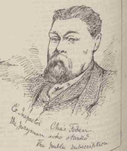 A portrait of Charles Foden.