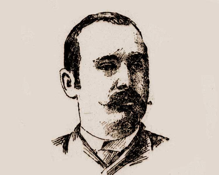 A portrait of Edward Cronin.
