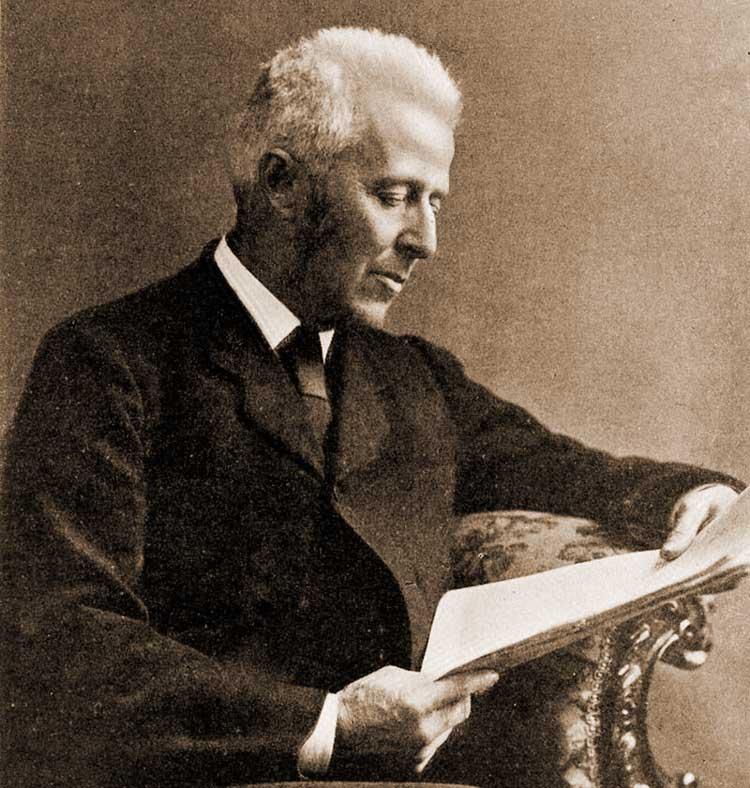 A photograph of Dr Joseph Bell.