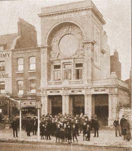 A photograph showing the Pavilion Theatre.
