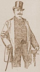 A sketch of Lawyer Wakefield.