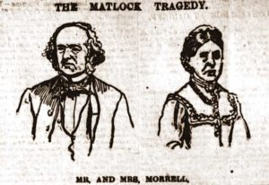 A sketch of Mr and Mrs Morrell.