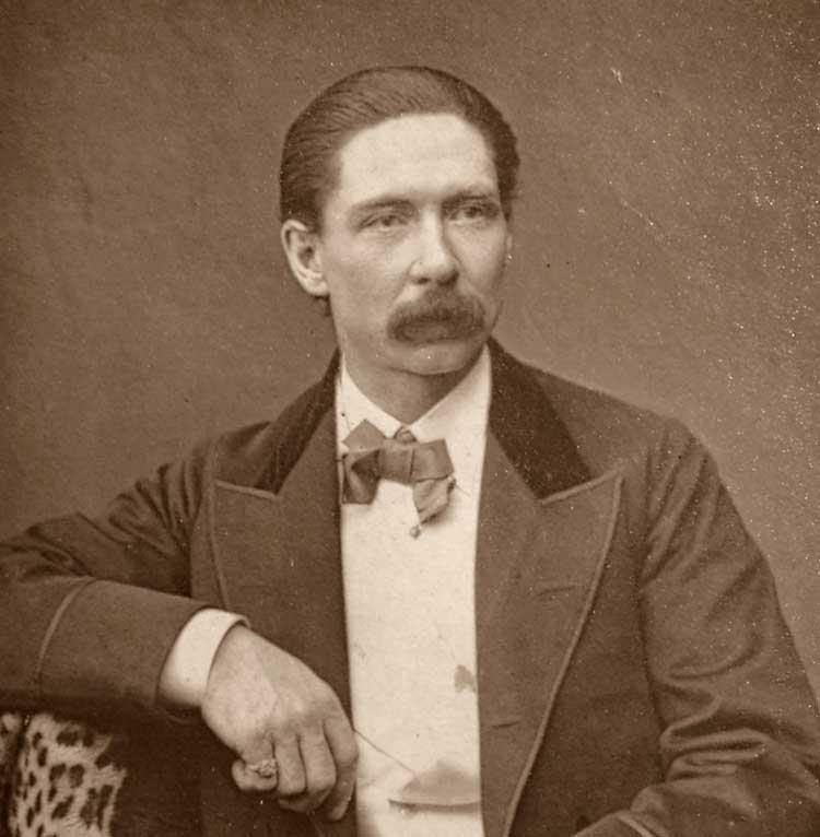 A photo of John Nevil Maskelyne.s
