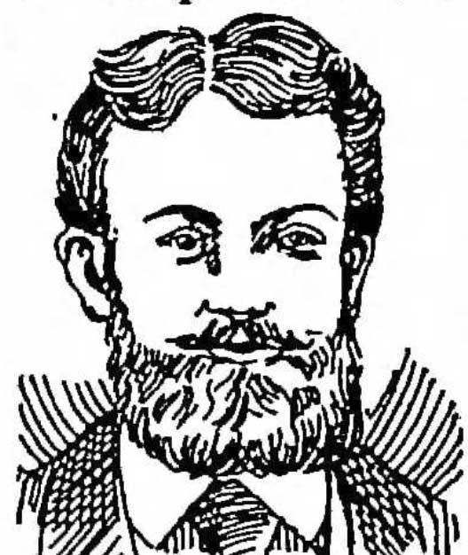 A portrait of Washington Irving Bishop.