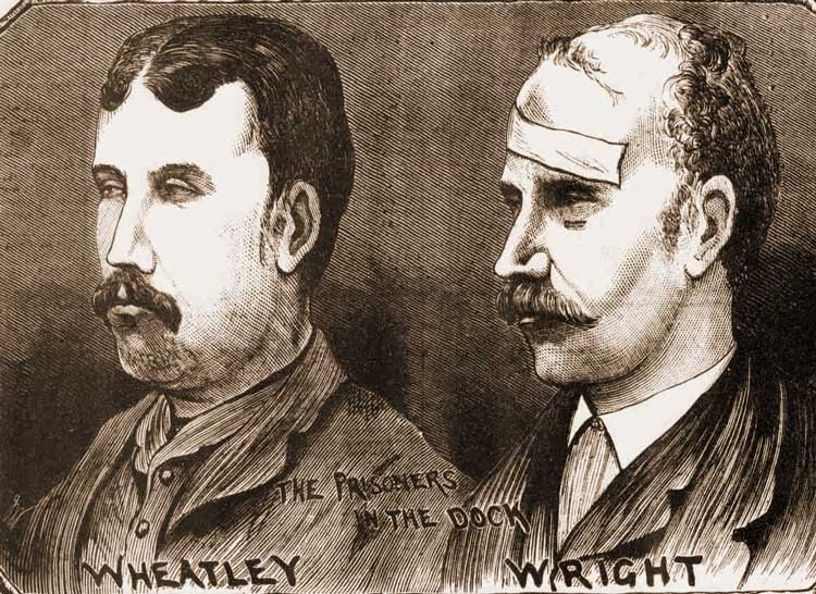 Portraits of Wheatley and Wright.