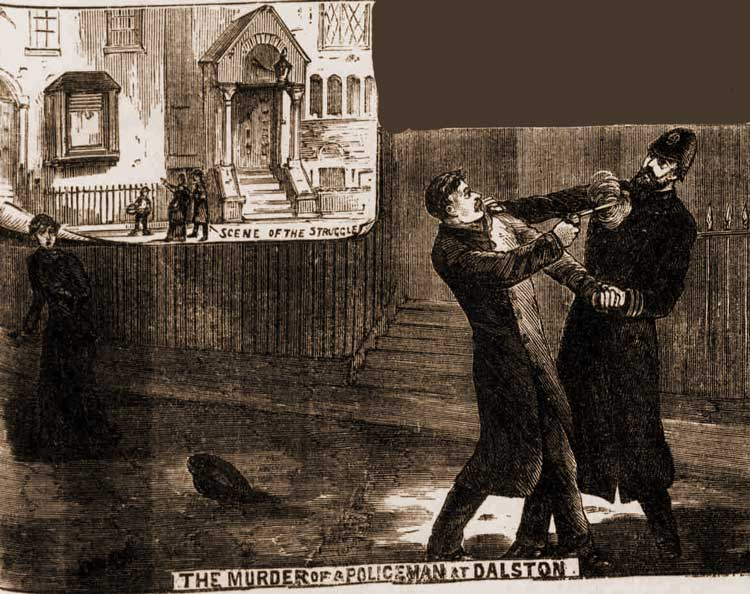 The shooting of Constable Cole.