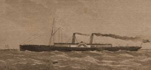 A sketch showing the Princess Alice.