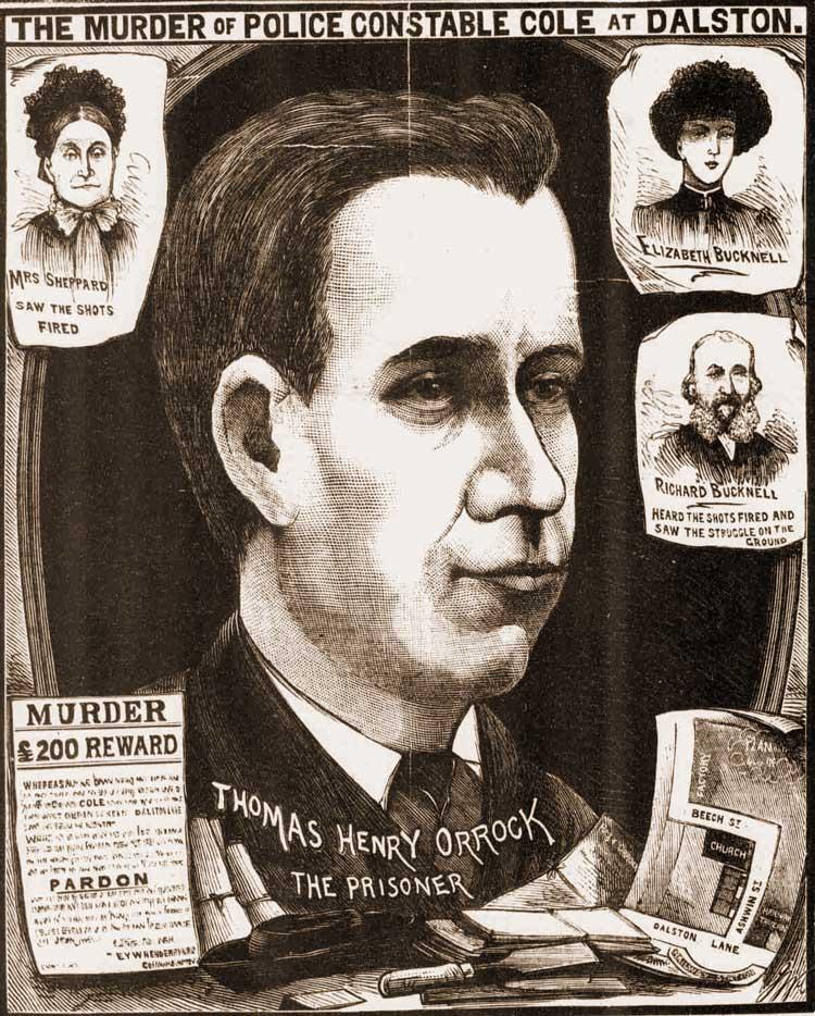 A portrait of Thomas Orrock.