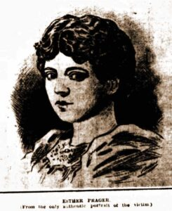 A portrait of Esther Praager.