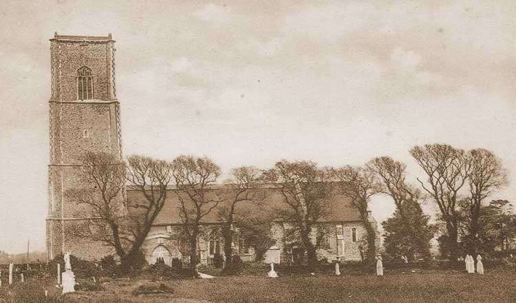 A photograph of St Edmund's Church.