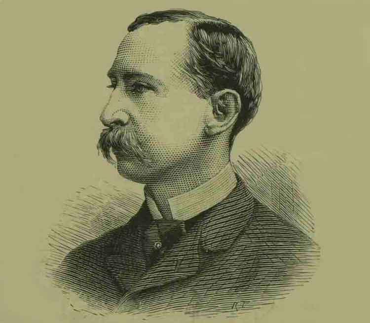 A portrait of Howard Vincent.