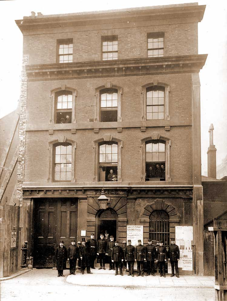 A photograph of the exterior of King Street Police Station.