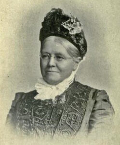A photograph Of Mary Steer.