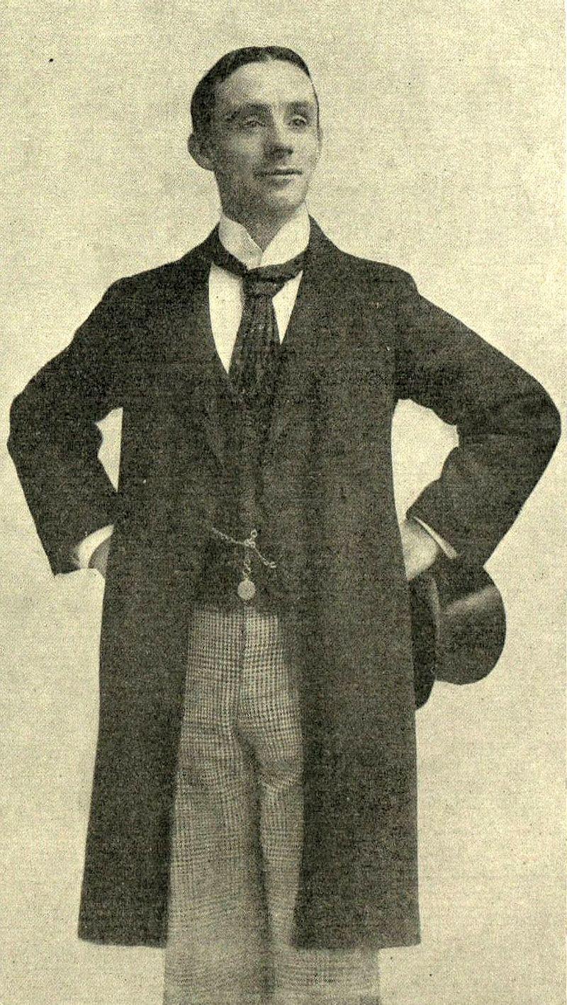 A photograph of Dan Leno.