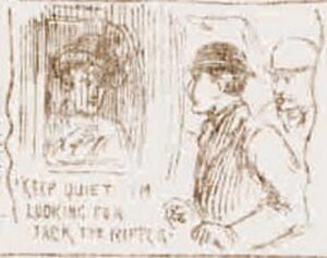 Robinson disguised as a woman in a cab is approached by two cab washers.