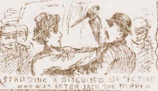 The attack on detective Robinson.